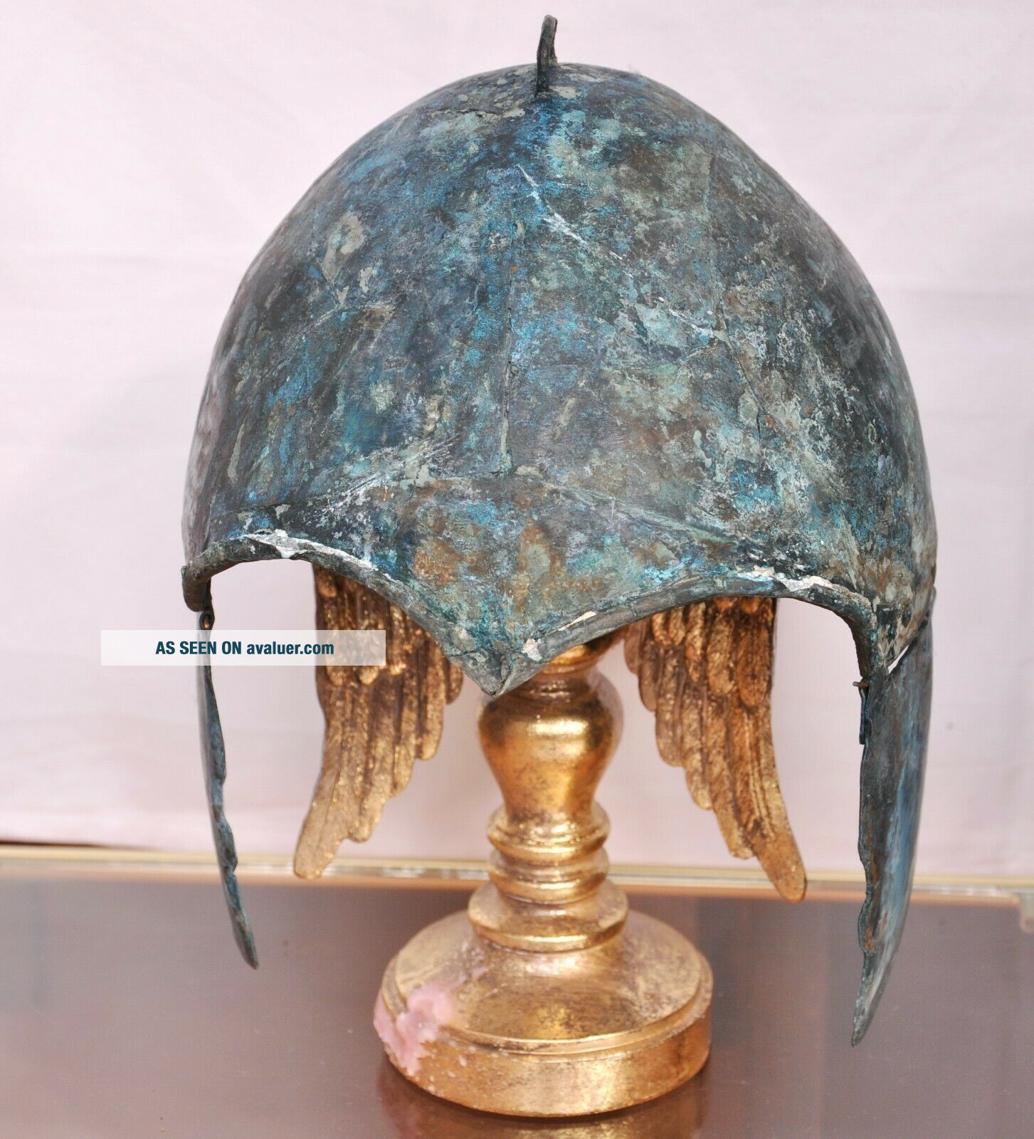 Scythian bronze helmet.  Kuban type.  About 7 - 6th century BC Chr.