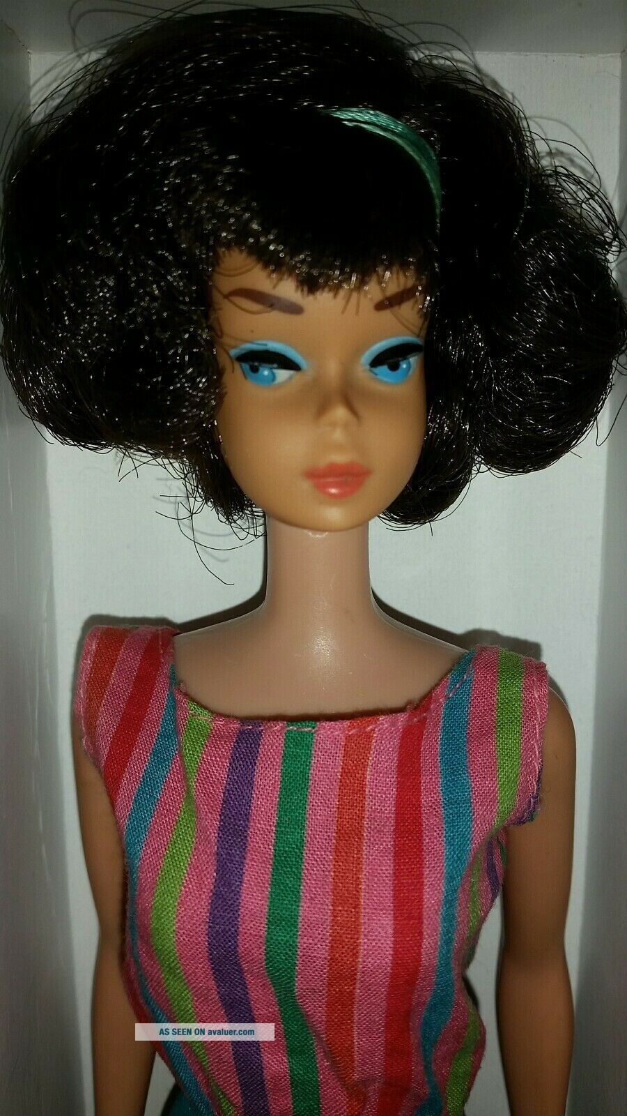 Vintage Barbie Low Color Midnight Sidepart American Girl,  OSS,  Japan OT 3 DAYS