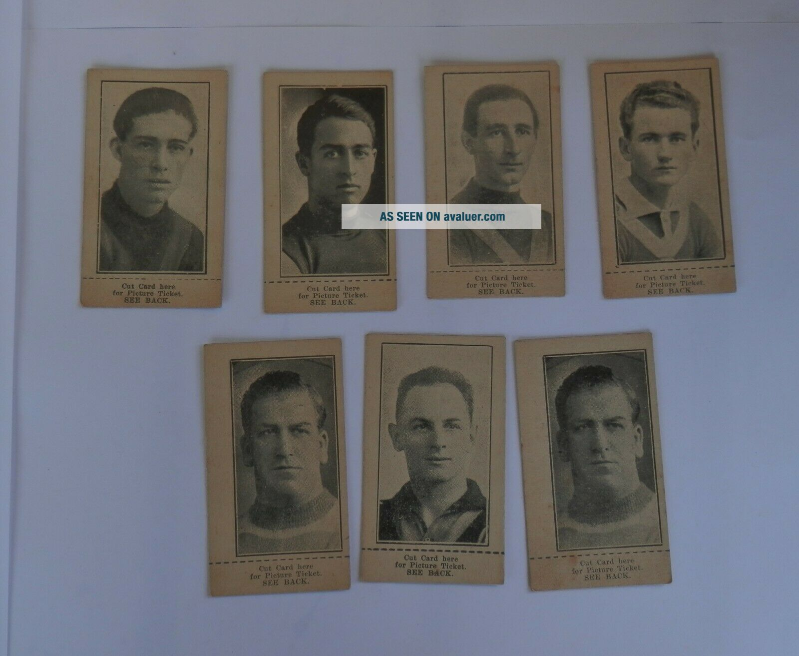 AFL VFL WAFL OLD RARE FOOTBALL CARDS 1920s 30s