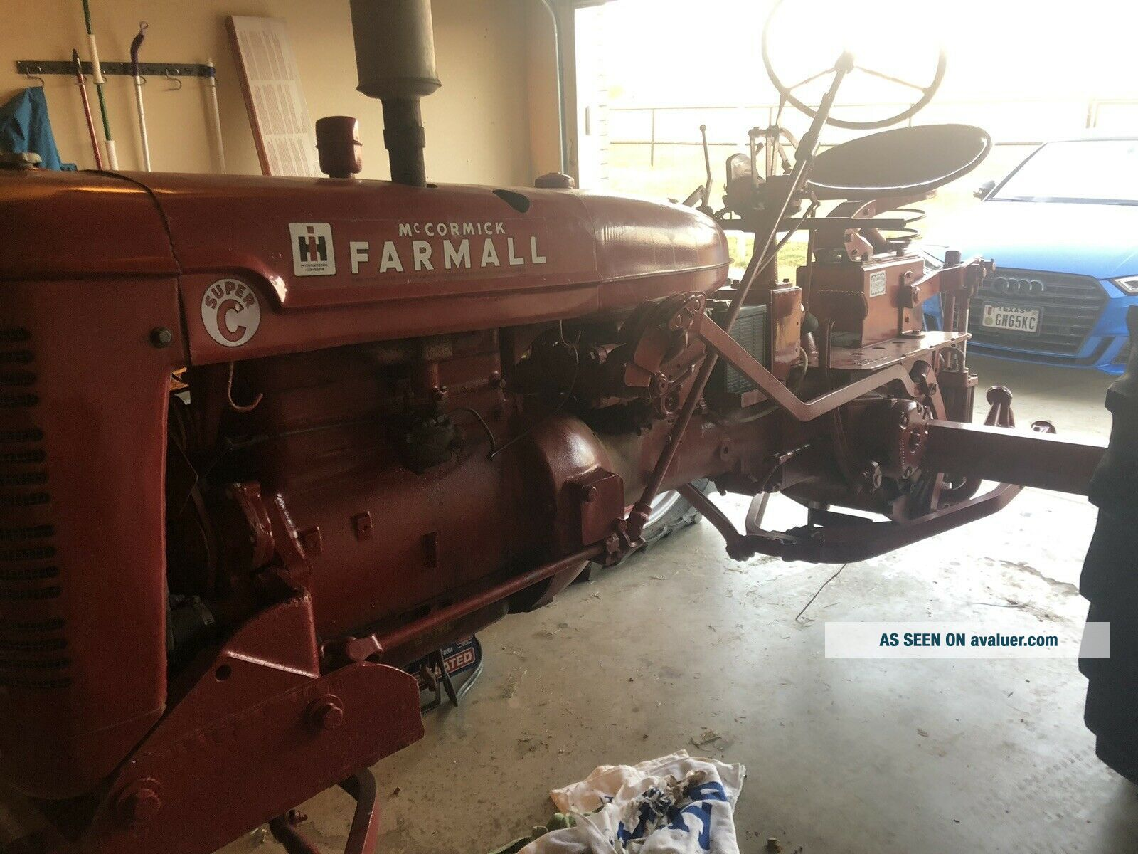 Vintage Farmall c International Harvester tractor