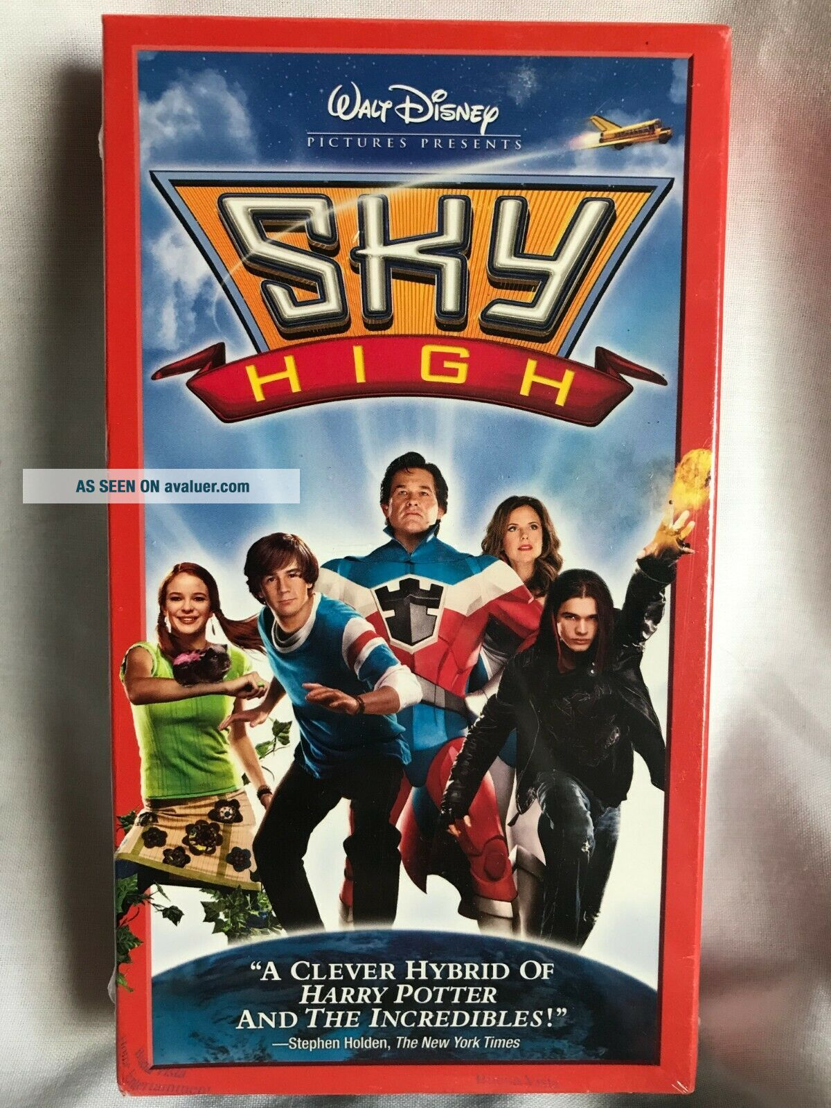 Factory Disney Sky HIgh VHS Tape - and Extremely Rare
