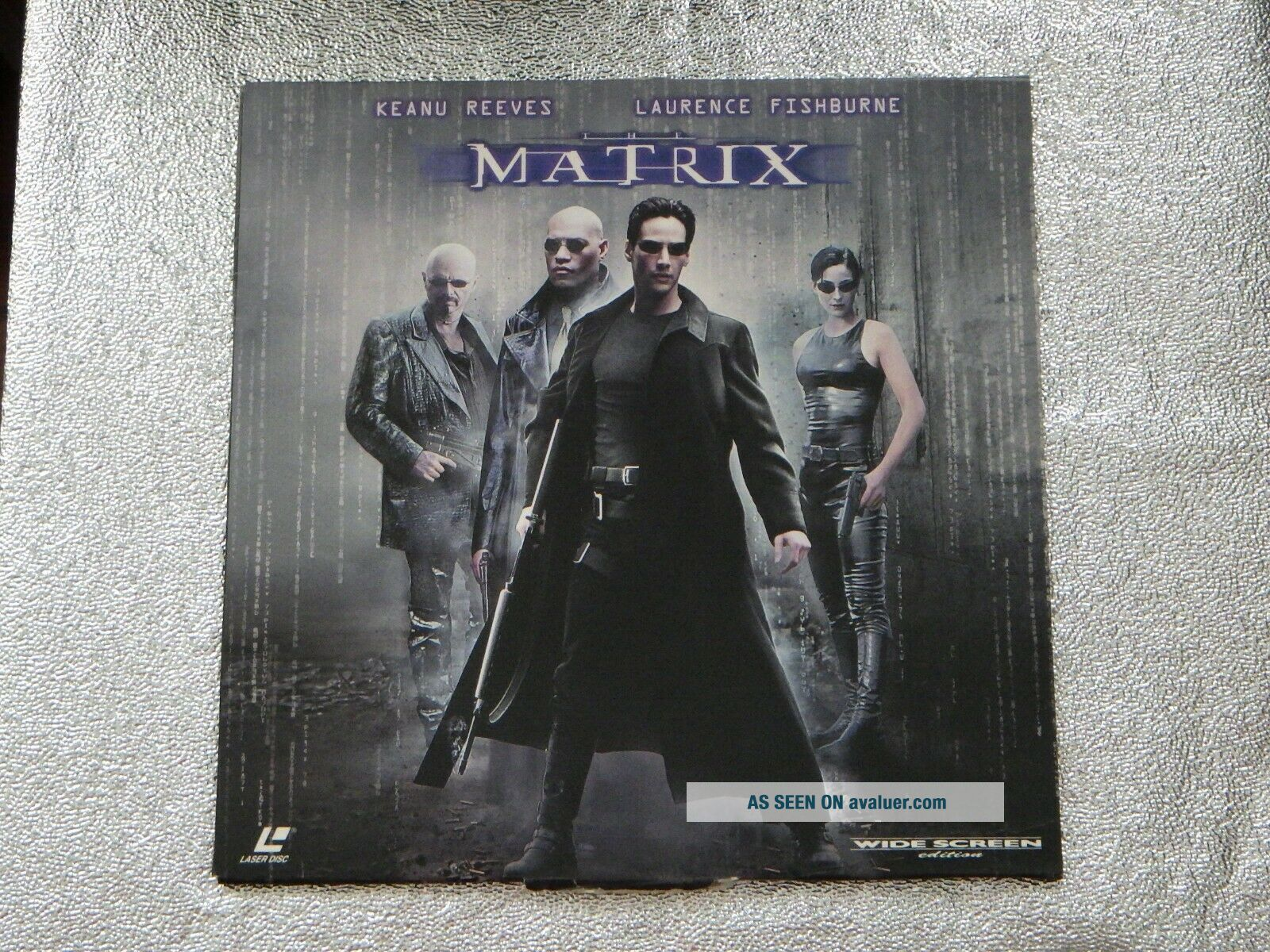 THE MATRIX Laserdisc LD Keanu Reeves RARE
