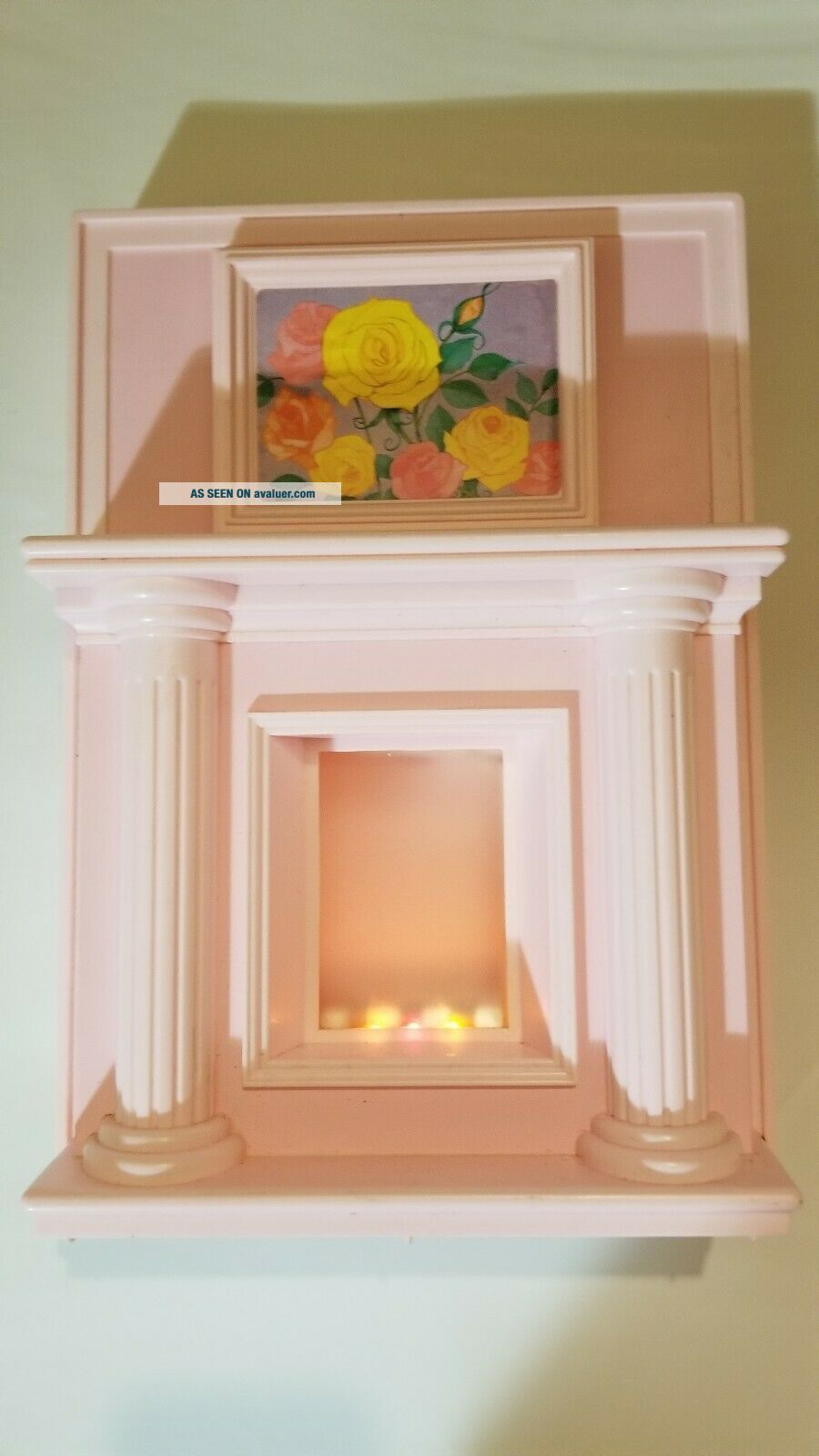 1990 Barbie Magical Mansion fireplace.  Extremly rare