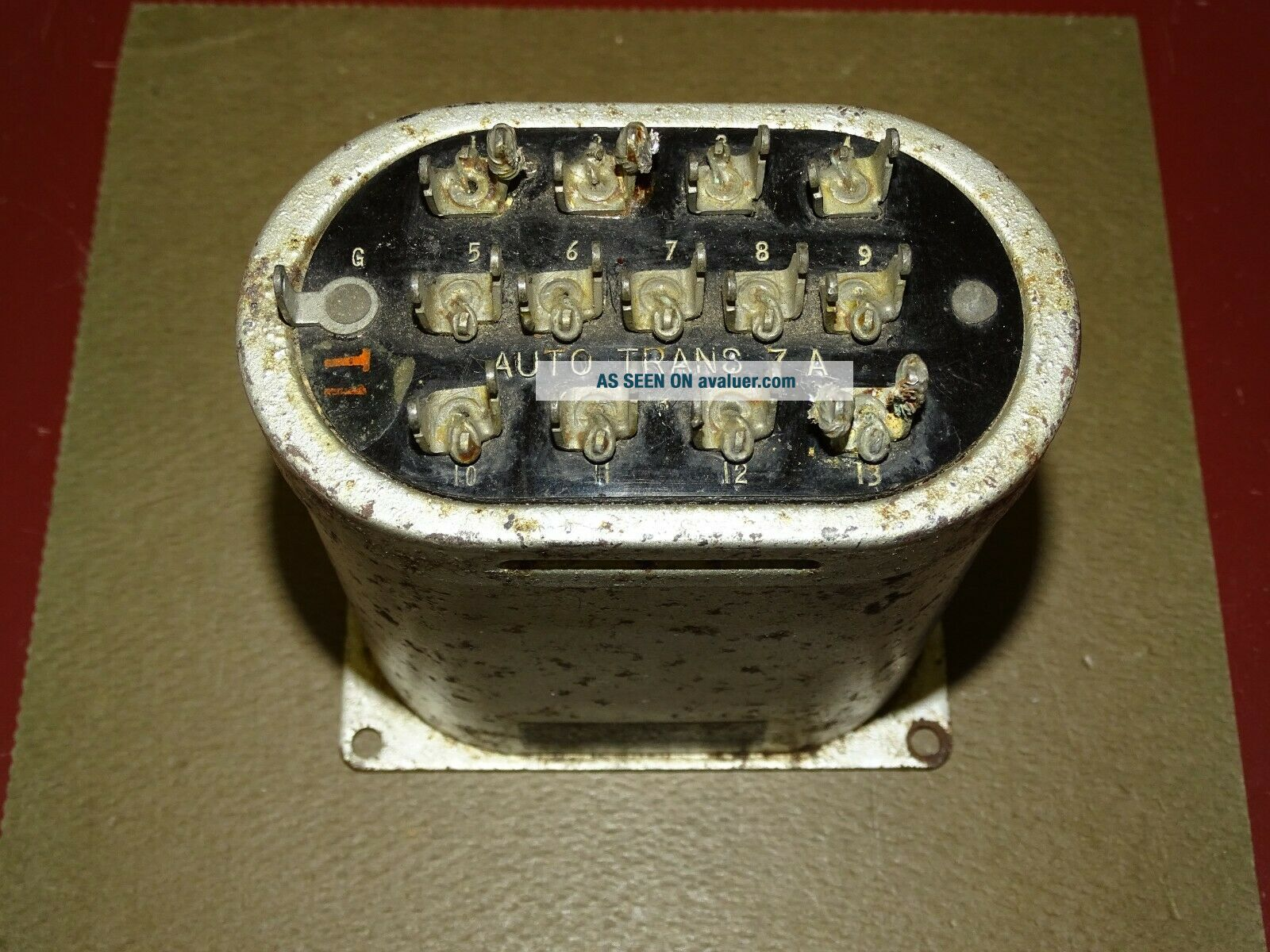 Western Electric Type 7A Auto Transformer,  for Tube Audio,  Good