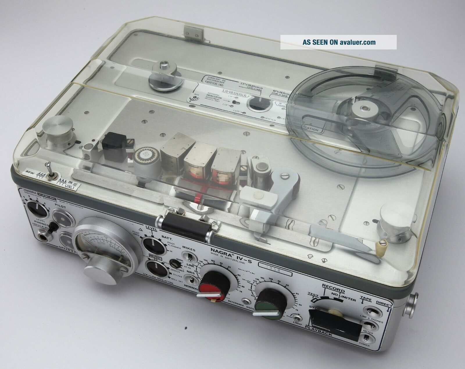 Nagra IV - S with many accessories (ATN2,  manuals,  etc. )