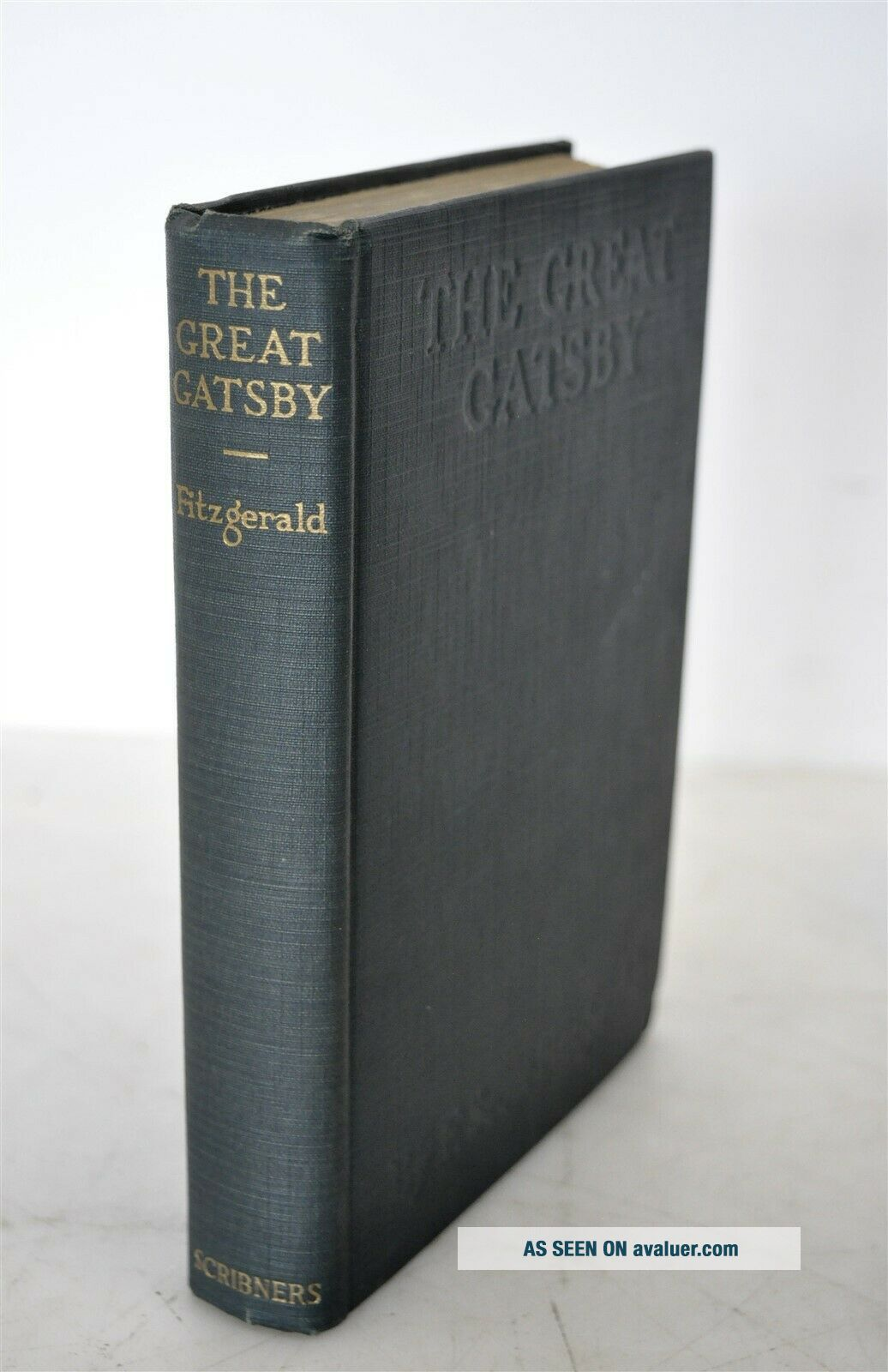 The Great Gatsby F.  Scott Fitzgerald 1st Edition/ Printing Scribners 1925 Books