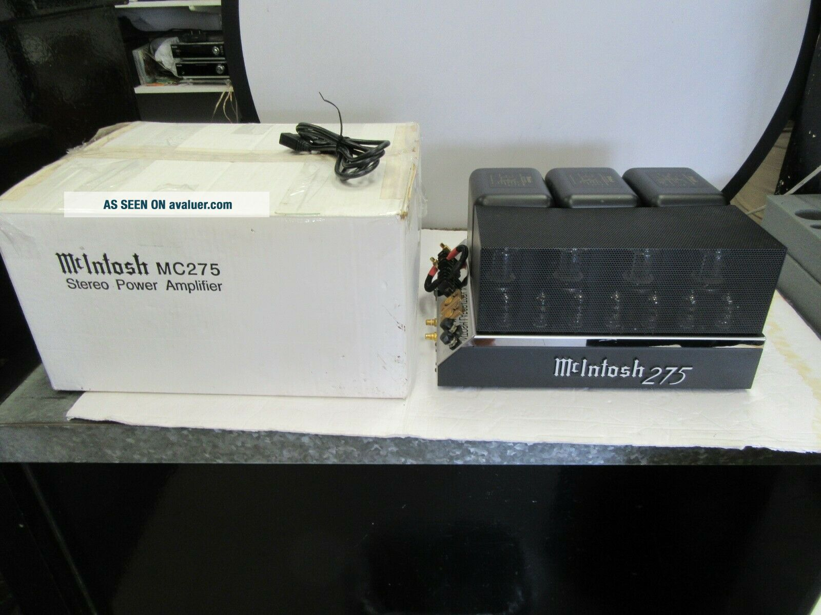 Mcintosh MC 275 MK IIII Tubed Stereo Power Amplifier With Box