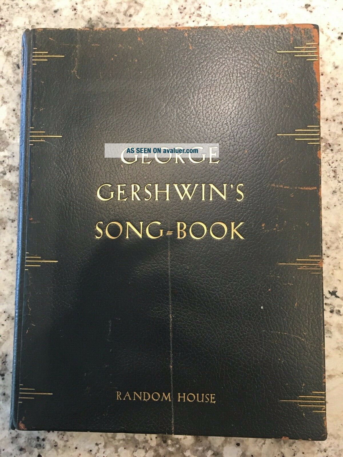 George Gershwin ' s Song - Book,  Signed First Edition
