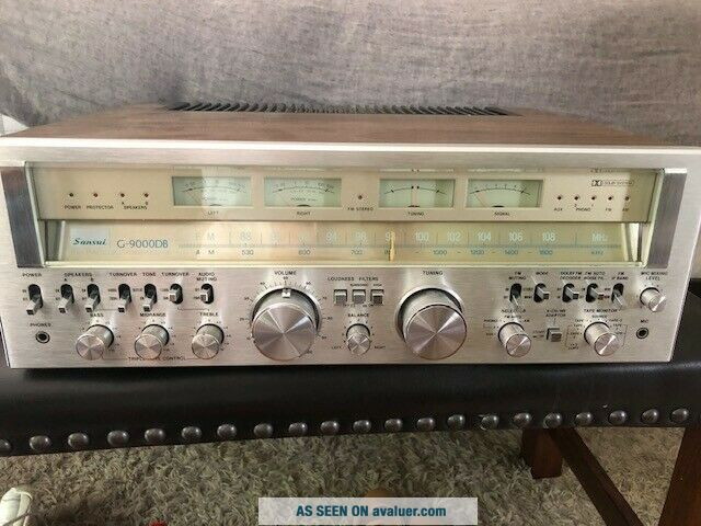 Sansui G - 9000DB Stereo Receiver - SERVICED - PERFECT -