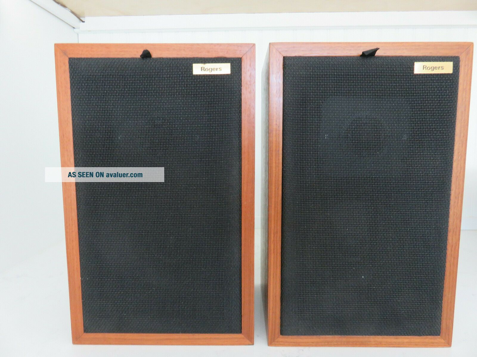 Rogers LS3/5A Gold Badge BBC Studio Monitor Speakers
