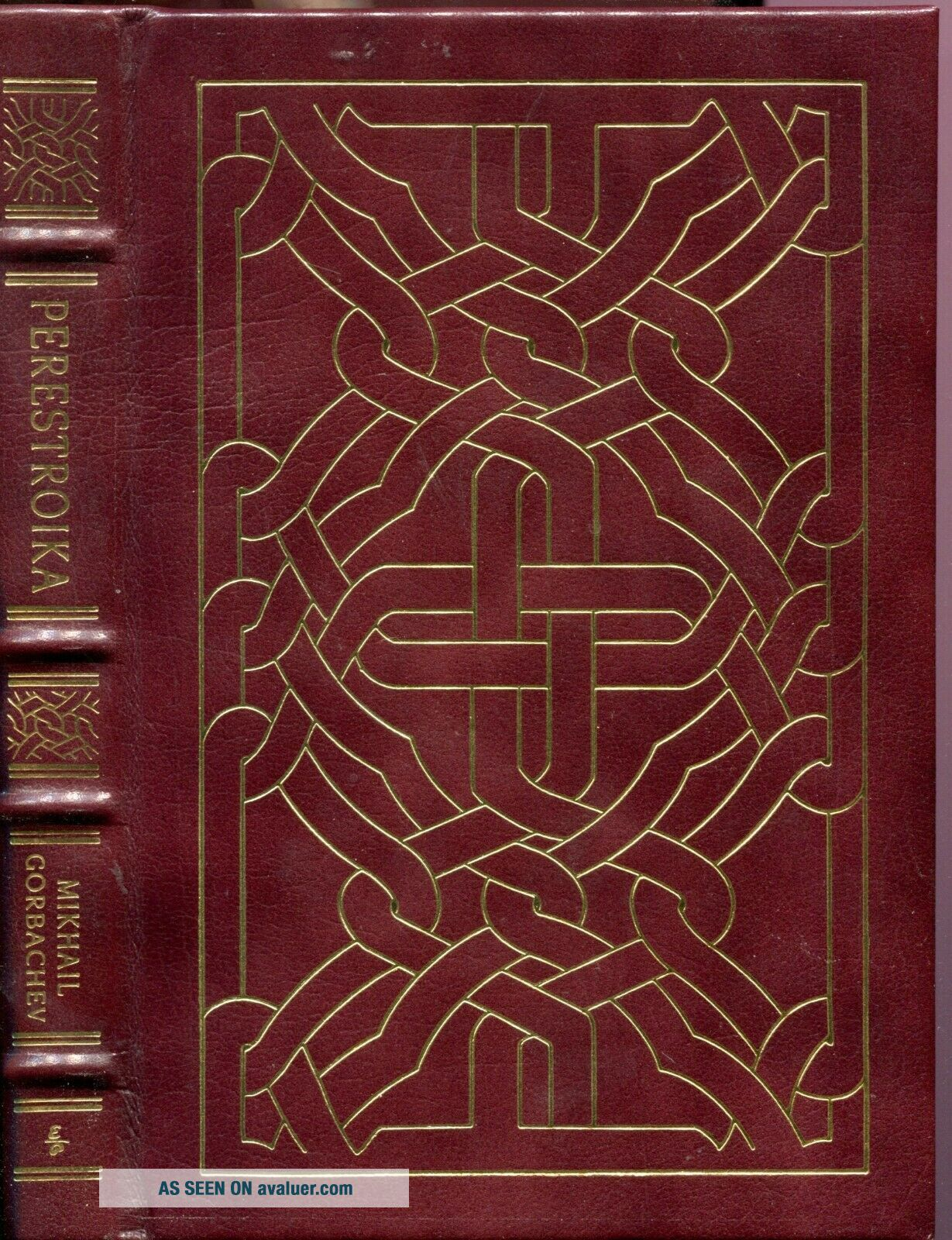 Mikhail Gorbachev / Easton Press Perestroika Limited Signed First Ed 88 of 250