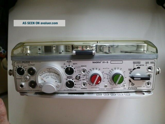Nagra IV - S Stereo Reel to Reel With Time Code,  Crystal Sync -