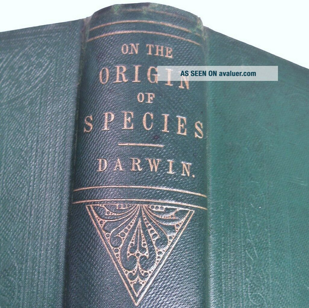 CHARLES DARWIN ORIGIN OF SPECIES/1861/3rd Ed.  with ADDITIONS & CORRECTIONS $10K,