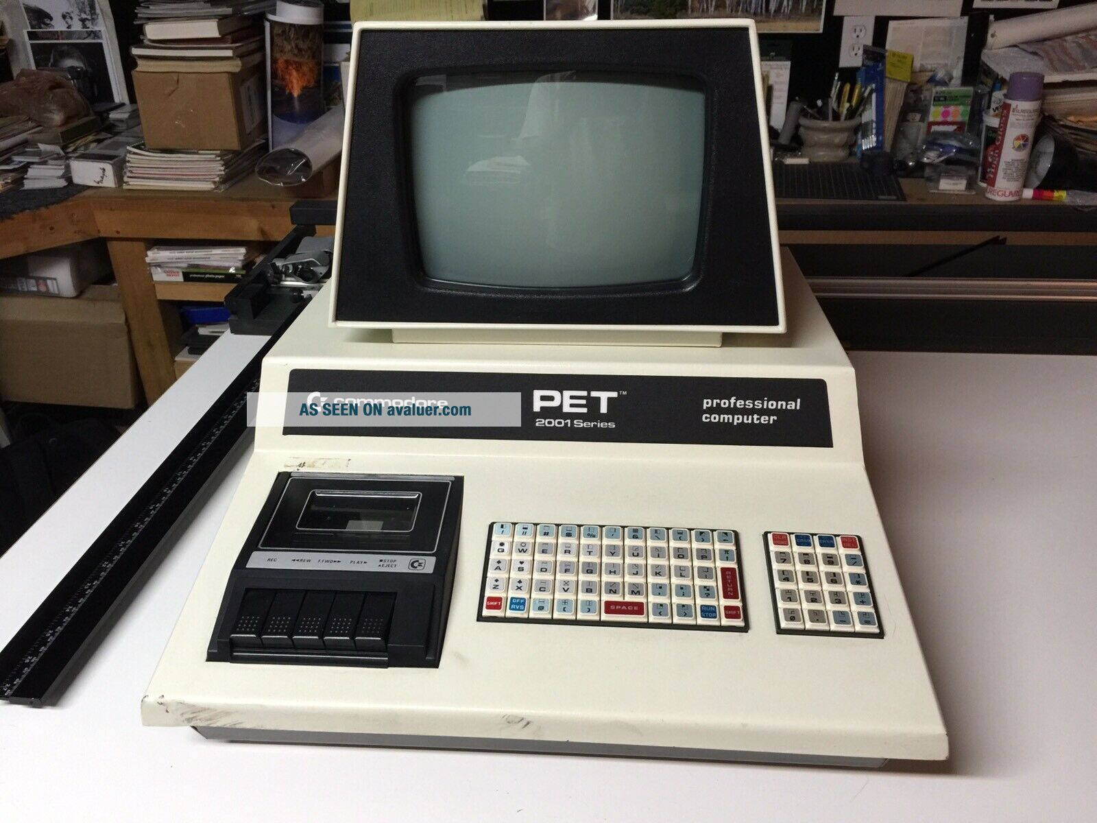 Commodore PET 2001 - 8 Computer - Chicklet Keyboard & Cassette -