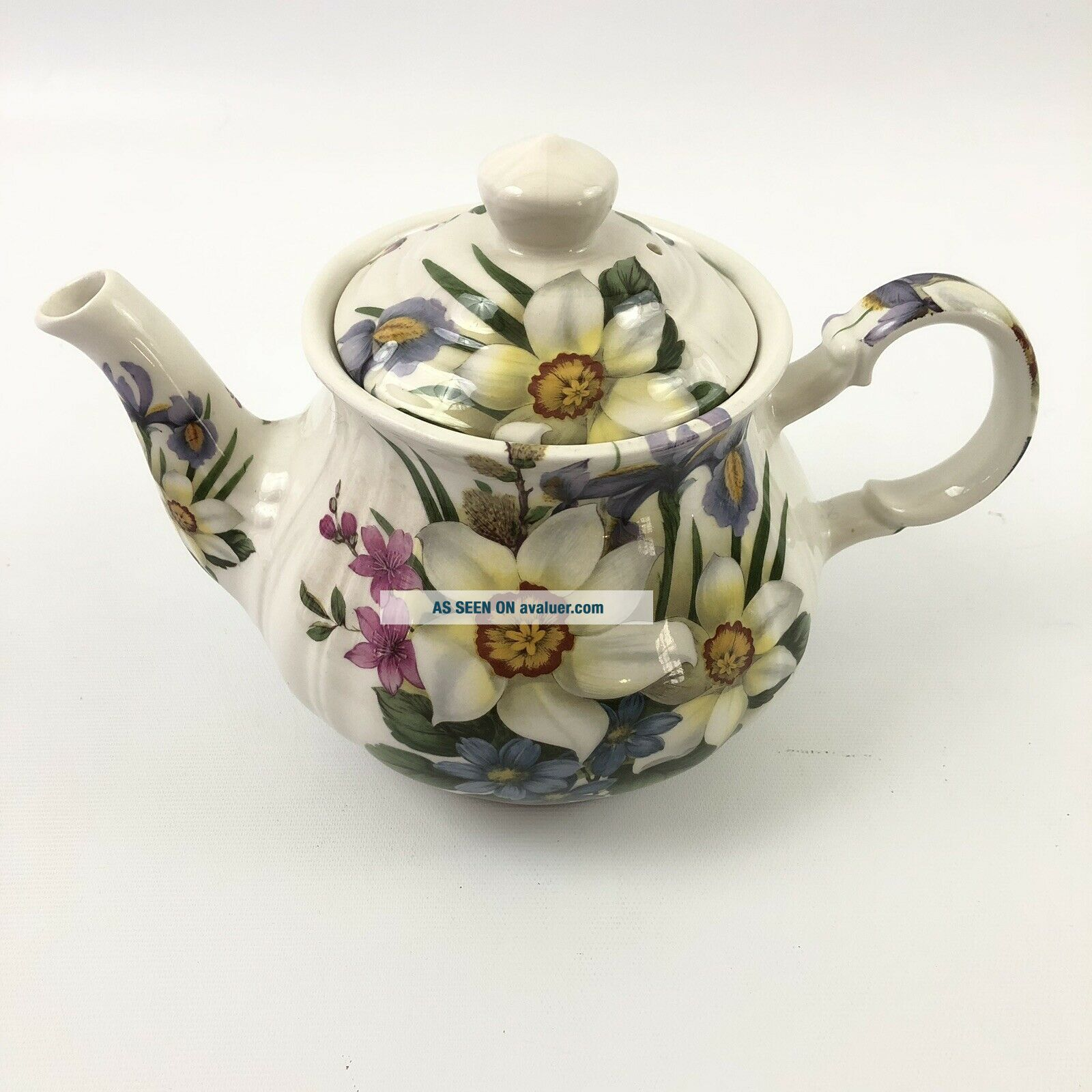 Vintage China Teapot And Lid By Sadler Made In England