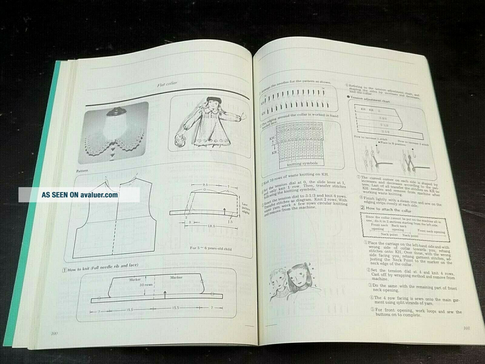 Knitting Machine Brother RIBBER TECHNIQUES BOOK How To ...